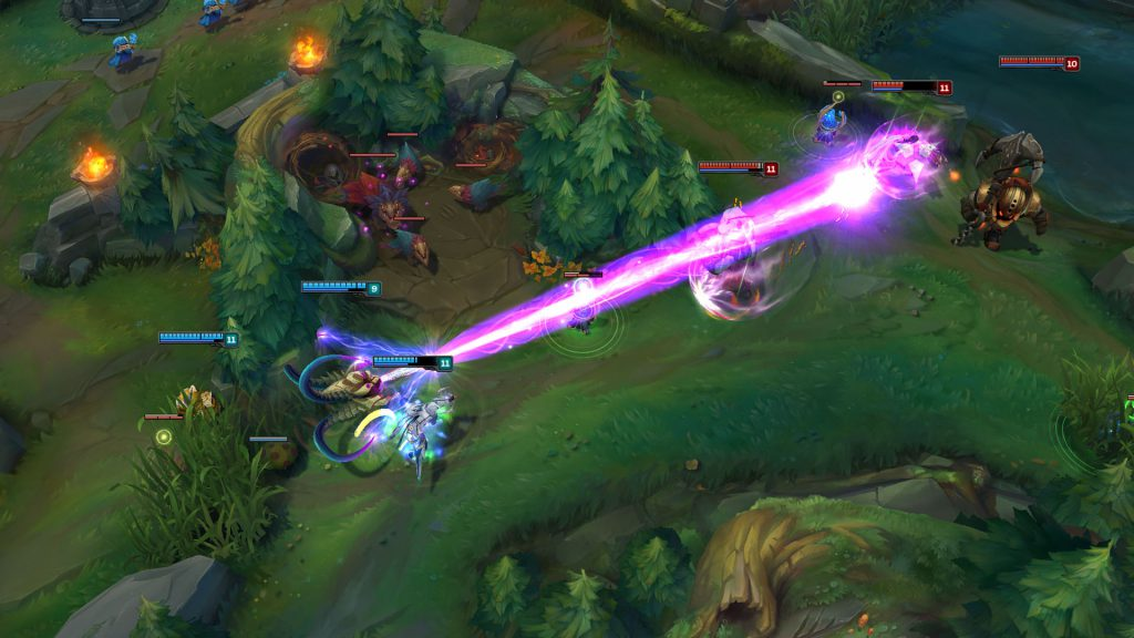 League of Legends - Champions in combat
