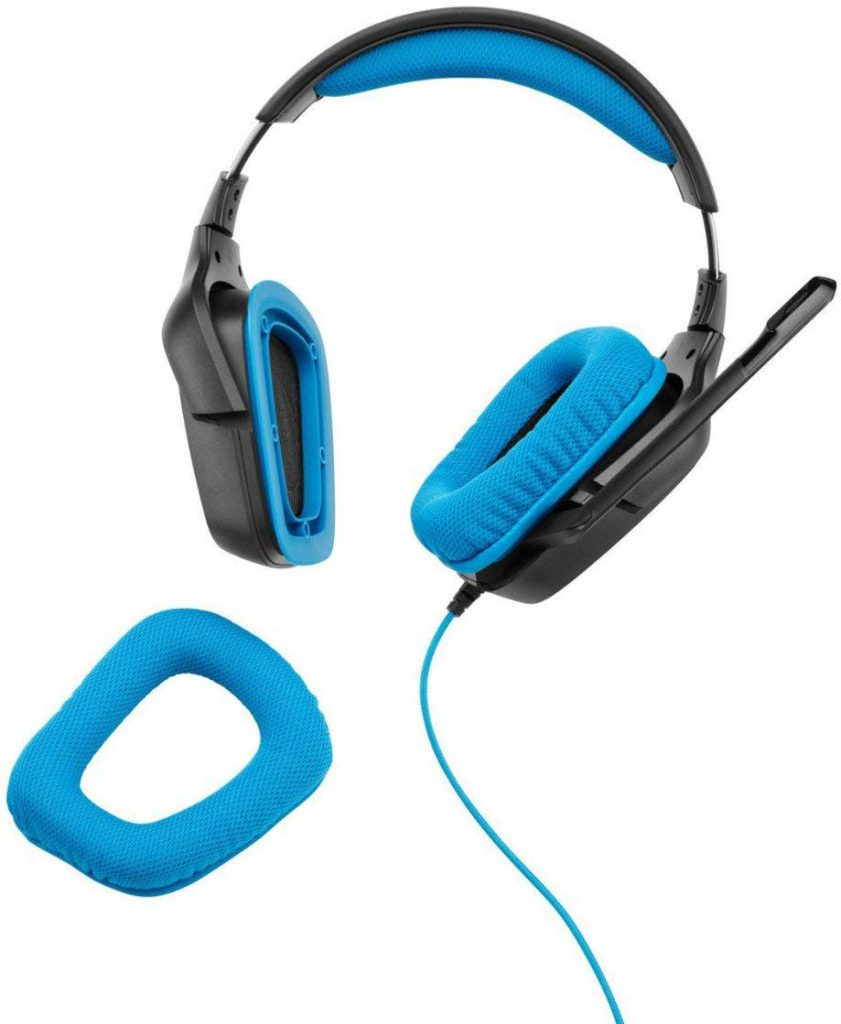 Logitech G430 - Replaceable Ear Cups