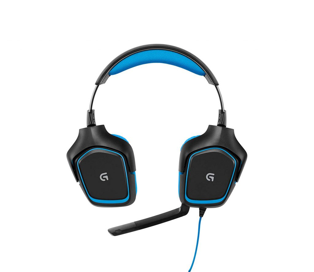 Logitech G430 - Twisting Ear Cups