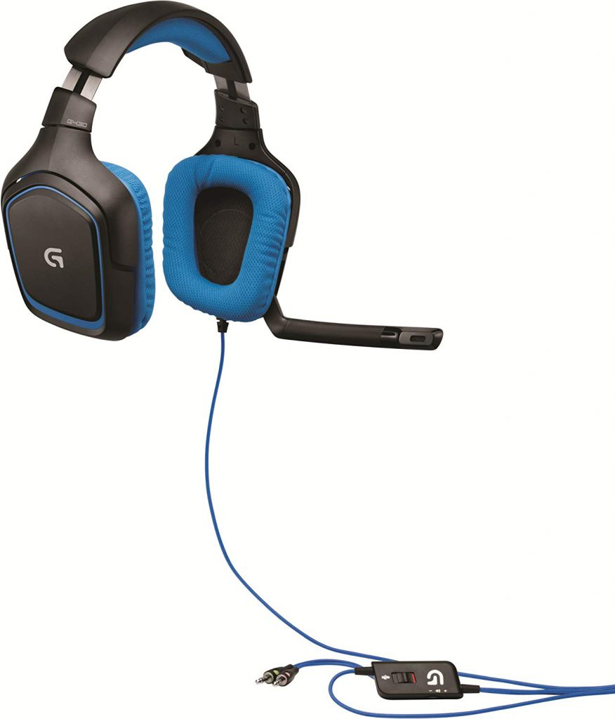 Logitech G430 and In Line Controls