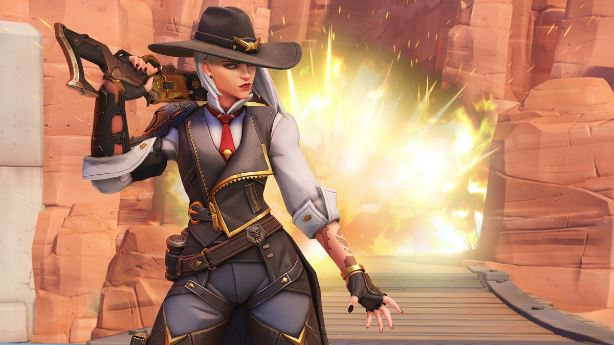 Ashe and her sidekick B O B now on the live Overwatch servers - Ask