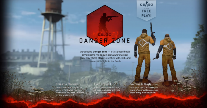 Counter Strike Danger Zone Battle Royale Game Mode