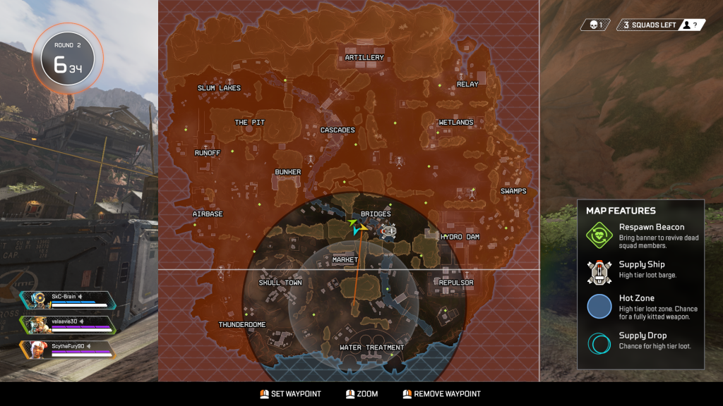 Map - Apex Legends