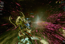 Saryn Prime - Particle effects - Warframe