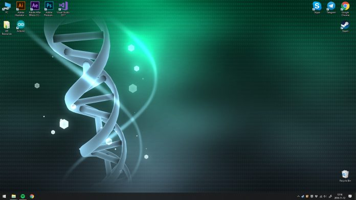 DNA - Wallpaper Engine